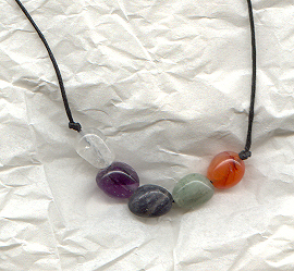 upper chakra necklace style 1